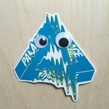 Palace skateboard sticker decal Bronze Supreme tri-flag glitch googley eyes