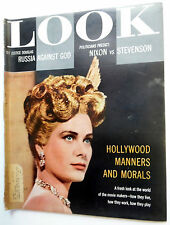 LOOK Magazine 1/10/56 GRACE KELLY Hollywood STARS Article GREAT Pics  etc. ak