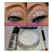 Glitter eyes Irridescant Pearl with Fix Gel, Application Wand