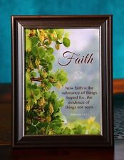 Bible Scripture Picture Print In Frame & Glass Faith-Spirituality-Verse-Plaque