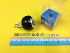Surecatch Medium Size Black Handle Round Knob for Shimano Spinning Reels.