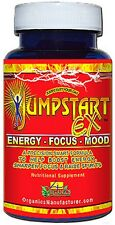 JUMPSTART EX Stimulant  Energy  Booster  Weight Control Mood - 30 Capsules - New