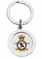 ROYAL AIR FORCE DEFENCE ELECTRONIC WARFARE CENTRE KEY RING (METAL)