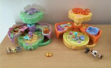 x2 Littlest Pet Shop Teeniest Tiniest Mini Playsets Hasbro 2006 Polly Pocket?