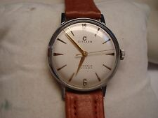 VINTAGE NEW OLD STOCK CITIZEN 17 JEWELS  PHYNOX  CENTER SECOND STAIN LESS STEEL