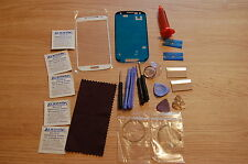 Samsung Galaxy S3 i9300 Front Glass Repair Kit White, loca glue,cutting wire
