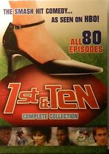 1st & TEN The COMPLETE SERIES 40 Hours of Laughs 80 Episodes 6-Disc Set SEALED