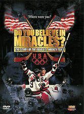Do You Believe in Miracles? ~ The Story of the 1980 U.S. Hockey Team ~ DVD