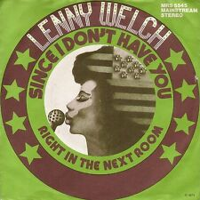 "Lenny welch-since I Don 't have you (7"" white-label promo-single GERMANY 1973)"