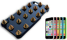 COVER CASE BUMPER COMPATIBILE APPLE IPHONE 5 RIGIDO BORCHIE BORCHIA ORO NERO Y