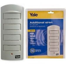 Yale® Loud Single Room Alarm Additional Siren130DB Home Security Trendy 912
