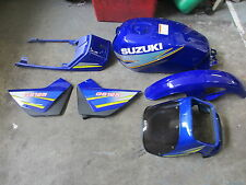 Suzuki GS125  body kit  panels tank mudgaurds etc New in  Blue   UK seller