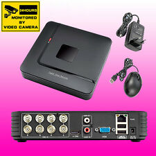 8CH Channel CCTV DVR 960H Realtime Mobile Views Video Recorder Security System