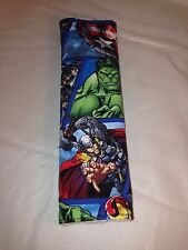 Avengers Seatbelt Cover w/ Hulk, Thor, Black Widow, Iron Man, Cap, & Hawkeye