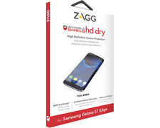 Zagg Samsung Galaxy S7 Edge Invisible Shield HD Dry Full-Body Screen Protector