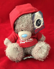 "ME TO YOU BEAR TATTY TEDDY 7"" CHAMPION DAD RED HOODIE TOP BEAR GIFT"
