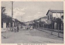 * GAETA - Giocondità di bagnanti sul viale del Littorio 1937