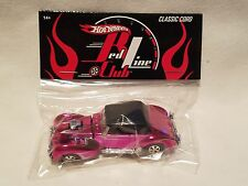 Hot Wheels RLC Pink Party Car Classic Cord!