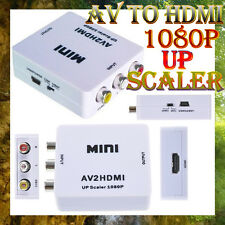 USB HD Video Converter Box AV TO HDMI / CVBS L/R Video Adapter cvbs+Audio TO HD