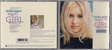 Christina Aguilera - What a Girl Wants (CD, Dec-1999) SINGLE