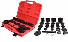 23PC FWD Front Wheel Drive Bearing Removal Adapter Puller Pulley Tool Kit W/Case