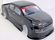 Pre-Painted RC Body 1/10th Scale Black Pick-Up Truck IzuzuHPI Traxxas Kyohso
