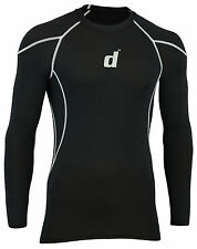 Didoo New Mens Compression Base Layer Tops Full Sleeve Tight Fit Jersey GYM 2016