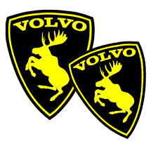 2 x Volvo Moose Stickers Car Surf Vinyl Decal Sticker EURO JDM DUBV Funny  VW