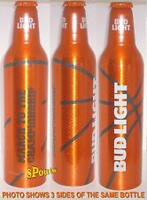 2016 TEXAS MARCH MADNESS BASKETBALL ORANGE NCAA FINAL 4 ALUMINUM BEER BOTTLE-CAN