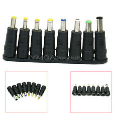 8 Pcs Plug Charger Tips DC AC Power Adapter For Laptop Notebook Acer Sony HP