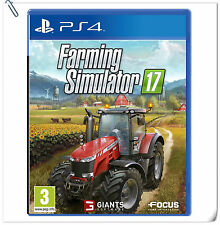 PS4 Farming Simulator 17 SONY PlayStation Koch Media Simulation Games