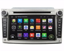 7'' Car Stereo Radio DVD Player GPS Navigation Android for Subaru Legacy/outback
