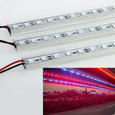 5pcs 0.5M 27Red+9Blue DC12V LED 15w Grow Light Bars Light Hard Strip Hydro Plant