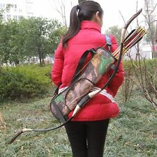 New Archery Quivers Arrows Bow Holder Outdoor Hunting Supplies Back Bag Pouch