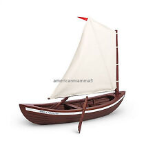 "American Girl CAROLINE SKIFF for 18"" Doll Wood Boat Ship Sailing Sail NEW"