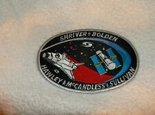 NASA NEW SEW ON NAME PATCH  (90)