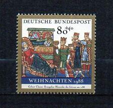 BRD 1988 postfrisch Nr. 1396 ** Weihnachten Weihnachtsmarke