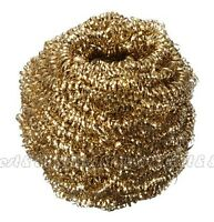 Soldering Solder Iron Tip Cleaner Brass Cleaning Wire Sponge Ball T9