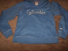 NWT COLUMBIA Light Blue HOODIE Hooded Sweatshirt Jacket Size Youth SMALL