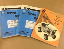 LOT INTERNATIONAL CUB CADET 149 SERVICE OPERATOR MANUALS OWNERS REPAIR KOHLER
