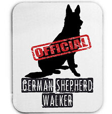 GERMAN SHEPHERD OFFICIAL WLKER - MOUSE MAT/PAD AMAZING DESIGN