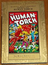 MARVEL MASTERWORKS HUMAN TORCH GOLDEN AGE VOL 3 #9-12 HARDBACK GN 9780785133490