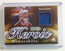 2015/16 ITG Heroes and Prospects Patrick Roy Heroic Memorabilia /15! Avalanche!