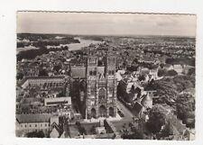En Avion Tours Cathedrale St Gatien La Loire 1956 RP Postcard France 559a