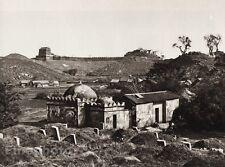 1906 Vintage CHINA GUANGZHOU Kuanyin Temple Tower Landscape Photo Art BOERSCHMAN
