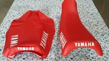 Yamaha yz100 yz125 1983 to 1985  SEAT COVER (RED COLOR)