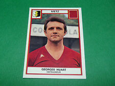 GEORGES HUART FC METZ LORRAINE GRENATS RECUPERATION PANINI FOOTBALL 76 1975-1976