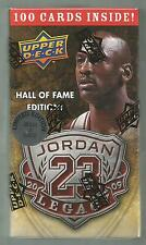 MICHAEL JORDAN 2009 UPPER DECK LEGACY GOLD 100 CARD SET  LIMITED 30,000 RARE