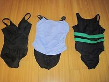 Womens MiracleSuit Anne Cole  Swimsuit Swim Suit one Piece LOT Size 10 M Tankini