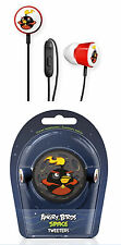 ANGRY BIRDS Gear4 In-Ear-Headphones Kopfhörer Black Space Tweeters iPod/iPhone #